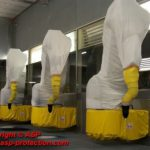 housse protection robot cover jetable fourreau durr automobile ASP eulmont