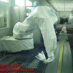 Housse protection robot cover Dürr RP6 / RP7