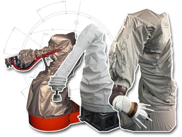 Housse de protection pour robots industriels ASP eulmont cover